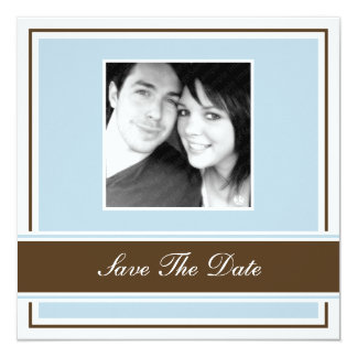 Save The Date Wedding Engagement Announcement