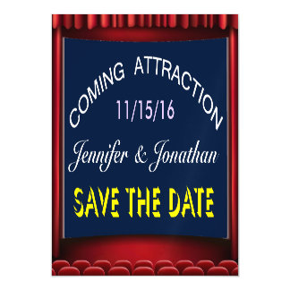 Save the Date Wedding Magnet Magnetic Invitations