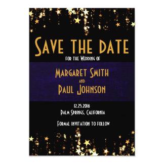 "Save The Date Wedding Matte 5"" x 7"" Card"
