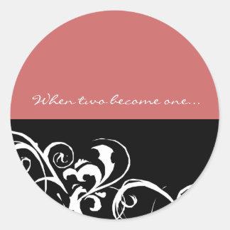 Save the Date -  Wedding Sticker