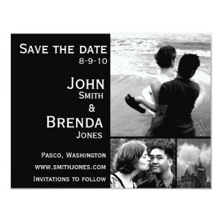 Save the Dates Customizable Wedding Invitations