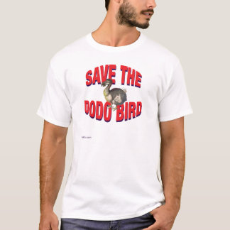 Save The Dodo Bird T-Shirt