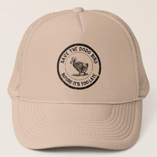 SAVETHEDODOBIRD TRUCKER HAT