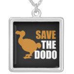 Save the dodo custom jewelry