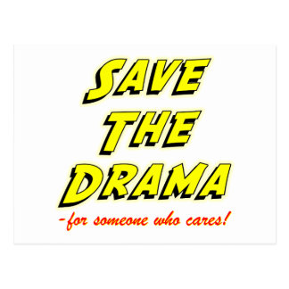 Save the Drama Breakup Card