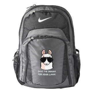 Save the Drama for Your Llama Backpack