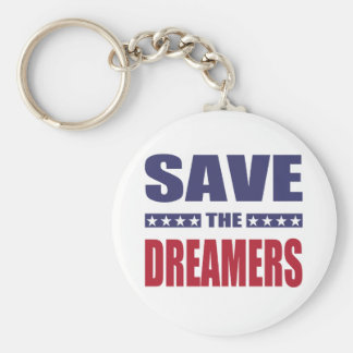 Save the dreamers keychain