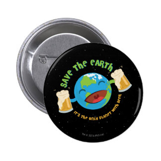 Save The Earth 2 Inch Round Button