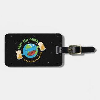 Save The Earth Bag Tag