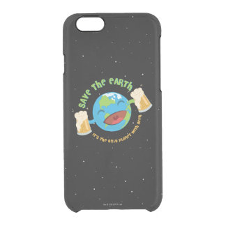 Save The Earth Clear iPhone 6/6S Case