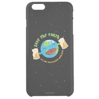 Save The Earth Clear iPhone 6 Plus Case