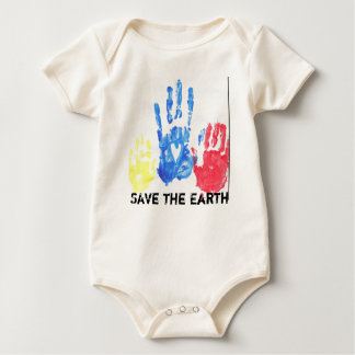 Save the Earth for Baby 1 Baby Bodysuit