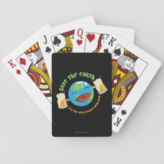 Save The Earth Playing Cards