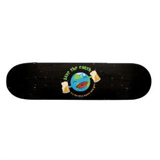 Save The Earth Skateboard