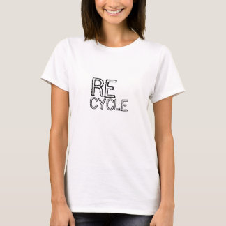 SAVE THE EARTH tshirt Recycle Print