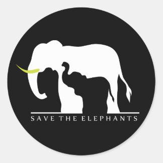 Save the Elephants (black)