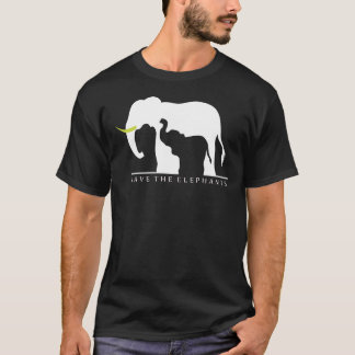 Save the Elephants (black) T-Shirt