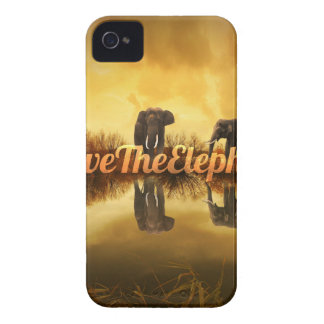 Save The Elephants Design iPhone 4 Case