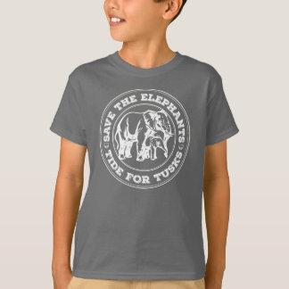 Save the elephants kids shirt