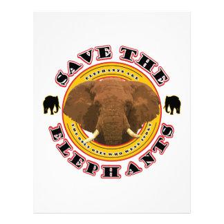 Save the Elephants Letterhead