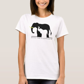 Save the Elephants (white) T-Shirt