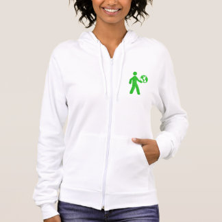 Save the environment be green and healthy hoodie
