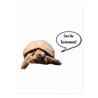 Save the Environment Postcard