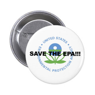 Save the EPA 2 Inch Round Button