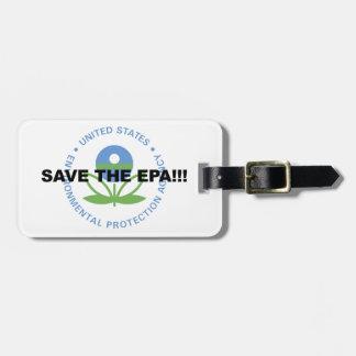 Save the EPA Luggage Tag