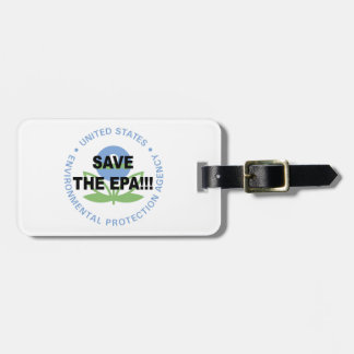 Save the EPA Luggage Tag