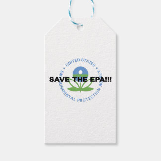 Save the EPA Pack Of Gift Tags