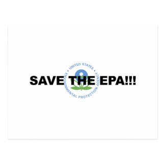 Save the EPA Postcard