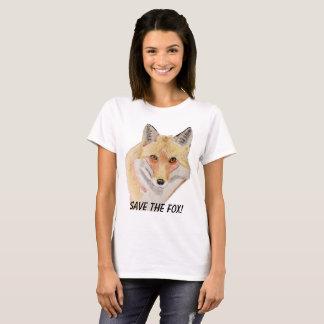 Save the fox t-shirt