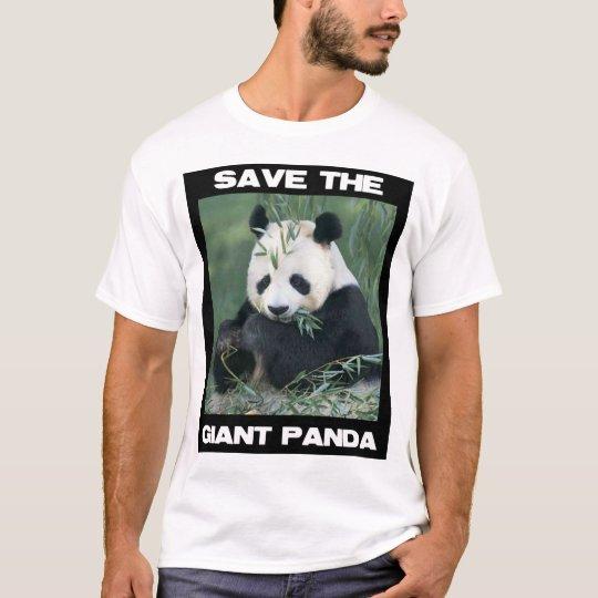 Save the Giant Panda T-Shirt