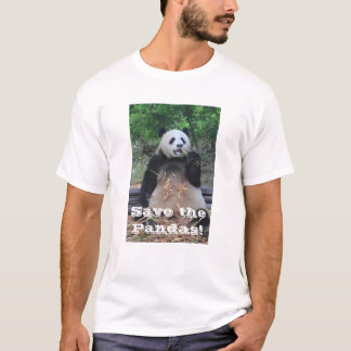 Save the Giant Pandas T-Shirt