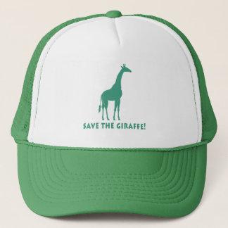 Save the Giraffe Trucker Hat