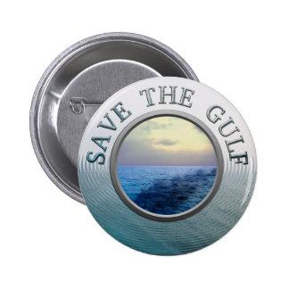 Save the Gulf Button