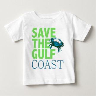 Save the Gulf Coast baby shirt