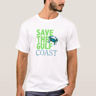 Save the Gulf Coast mens shirt
