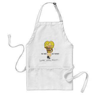 Save the Honey Bee Logo Standard Apron
