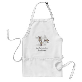Save the Honey Bees Standard Apron