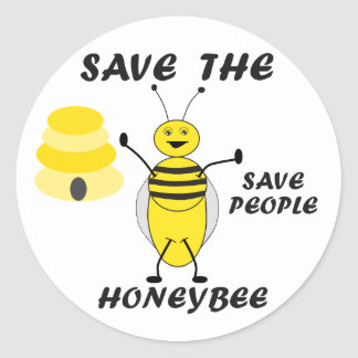 Save the HoneyBee Stickers