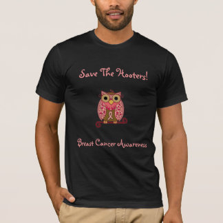 Save The Hooters Owl-all colors apparel T-Shirt