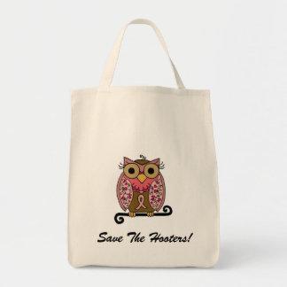 Save The Hooters Owl Bag