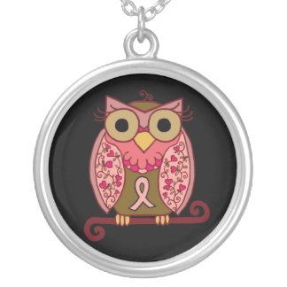Save The Hooters Owl! Silver Plated Necklace