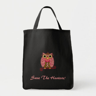 Save The Hooters Owl Tote Bag