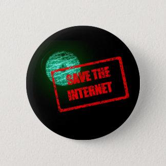 Save the Internet 2 Inch Round Button