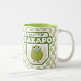 Save The Kakapo Parrot Mug