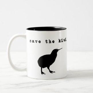 Save the Kiwi New Zealand Coffee Mug