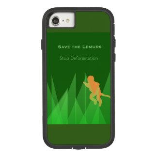 Save the Lemurs Case-Mate Tough Extreme iPhone 8/7 Case